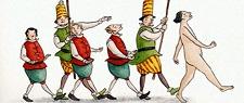 HANS CHRISTIAN ANDERSEN I vestiti nuovi dell'imperatore